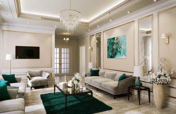 Hasil gambar untuk FlooringAla Desain Interior Rumah Amerika Klasik